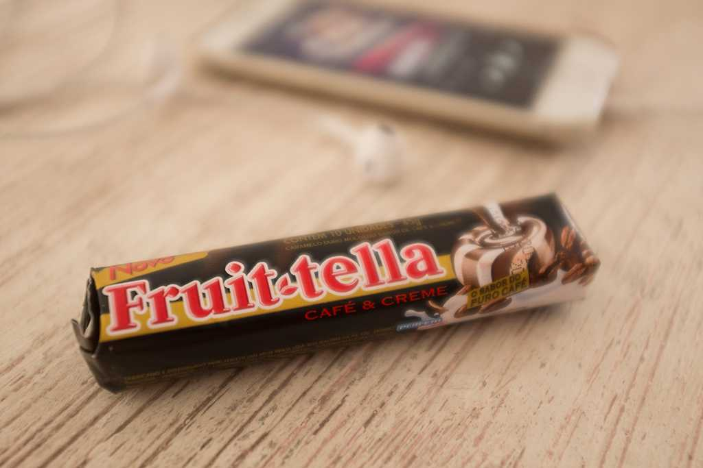 Fruittella café com creme