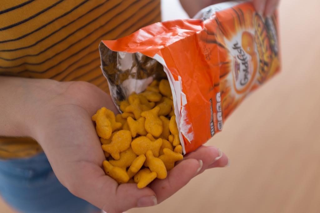 Candy Lovers Club caixa de fevereiro Goldfish