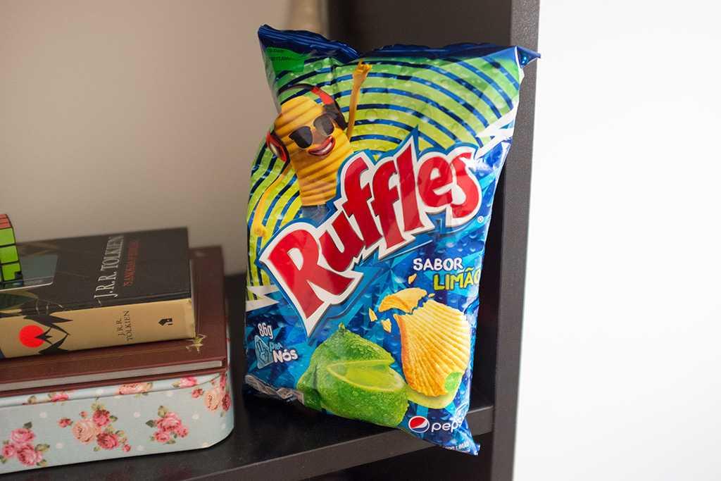 Nova Ruffles Limão