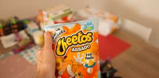 Novo Cheetos Fogo Nacho