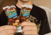 Pirulito Tortuguita Chocolate ao leite