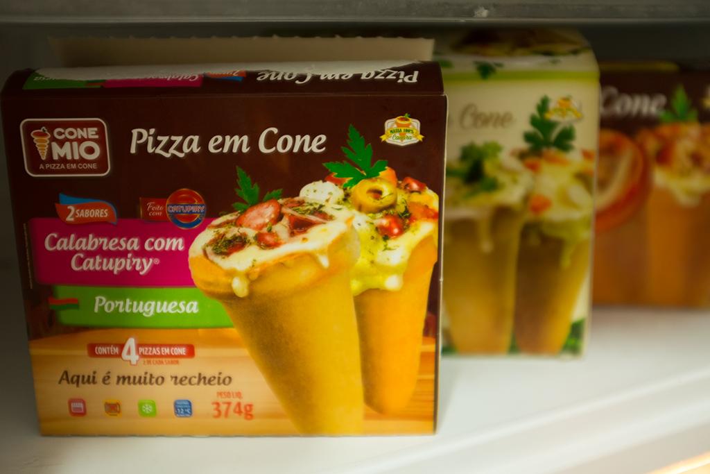 Pizza em cone Cone Mio