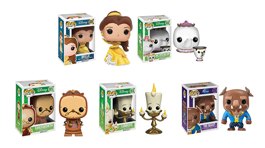 Funko POP! Personagens A Bela e a Fera