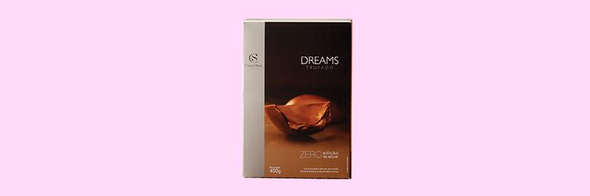 Linha Dreams Cacau Show Zero