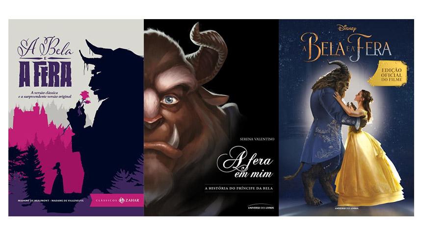 Livros a Bela e a Fera