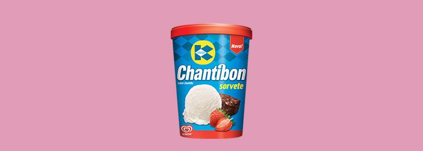 Sorvete Chantibon Kibon
