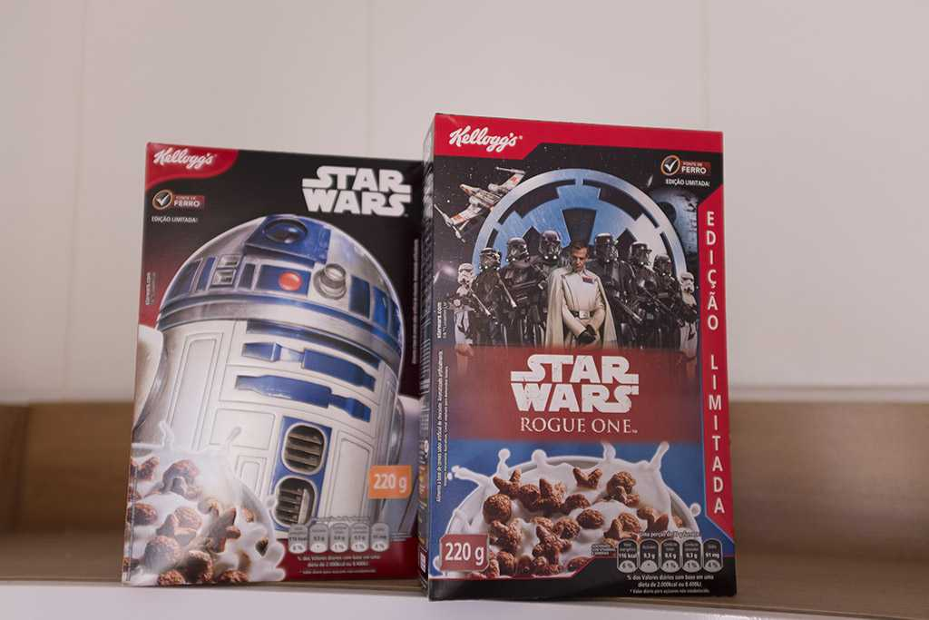 Cereal Kellogg's Star Wars