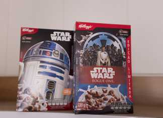 Cereal Kellogg's Star Wars