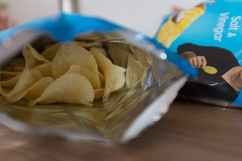 Batatas Lay's Salt & Vinegar
