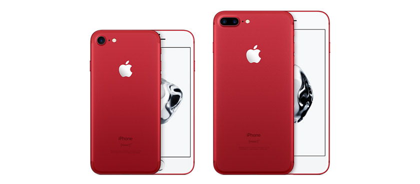 Modelos iPhone 7 Red