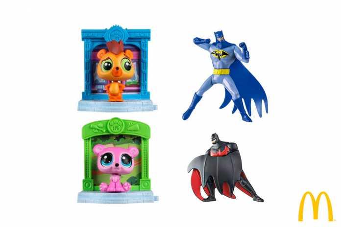 Novas coleções McLanche Feliz Littlest Pet Shop e Batman