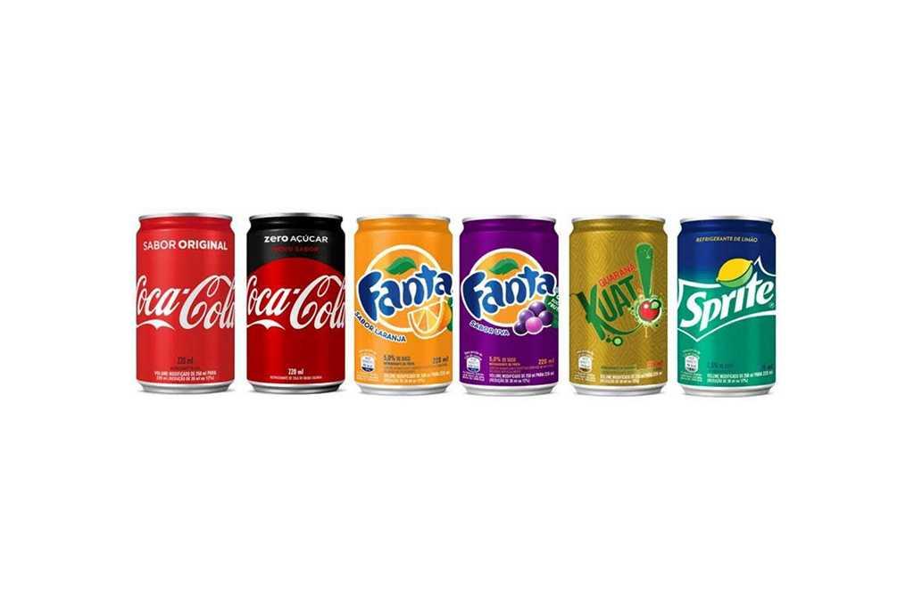 Mini latas Sleek Coca-Cola 220ml