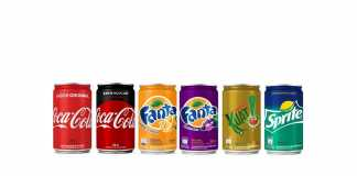 Mini latas Sleek Coca-Cola 220ml