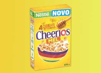 Novo cereal Cheerios Nestlé