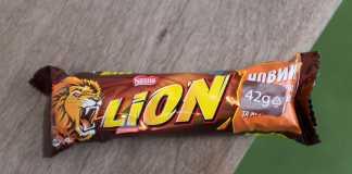 Chocolate Lion da Nestlé