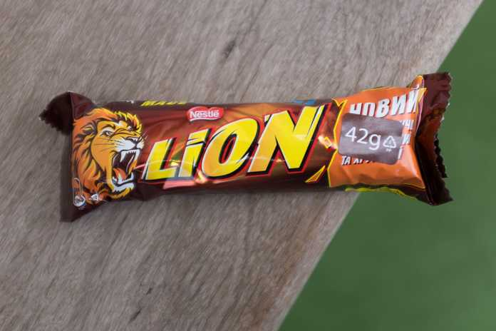 Chocolate Lion da Nestlé
