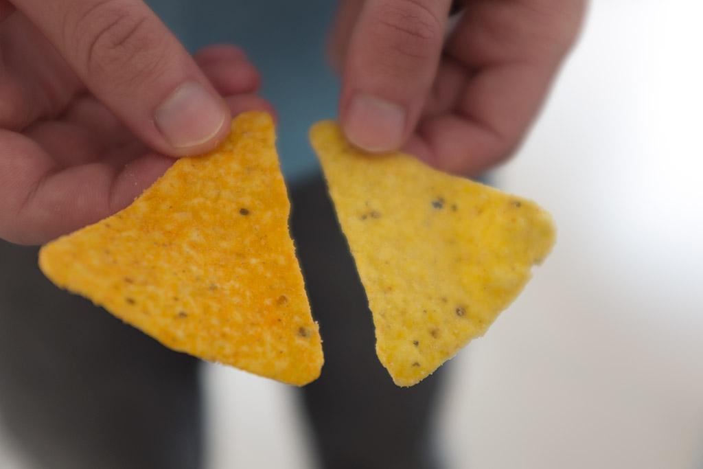 Novo Doritos Mystery temperos