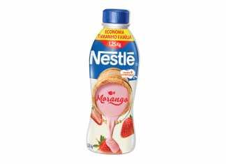 Nova linha de iogurtes Nestlé
