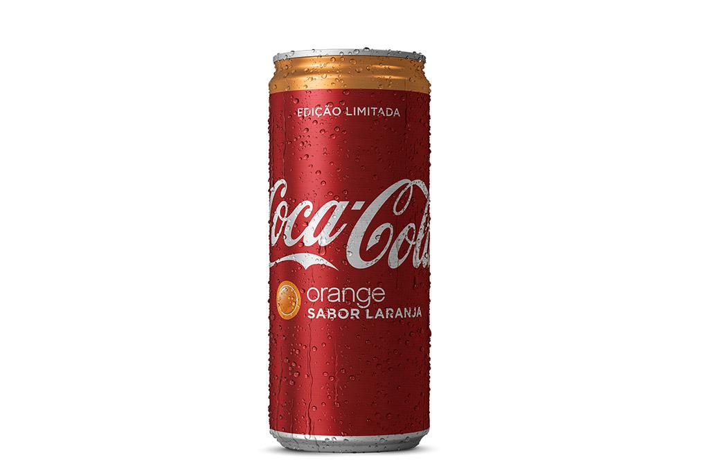 Nova Coca-Cola sabor laranja