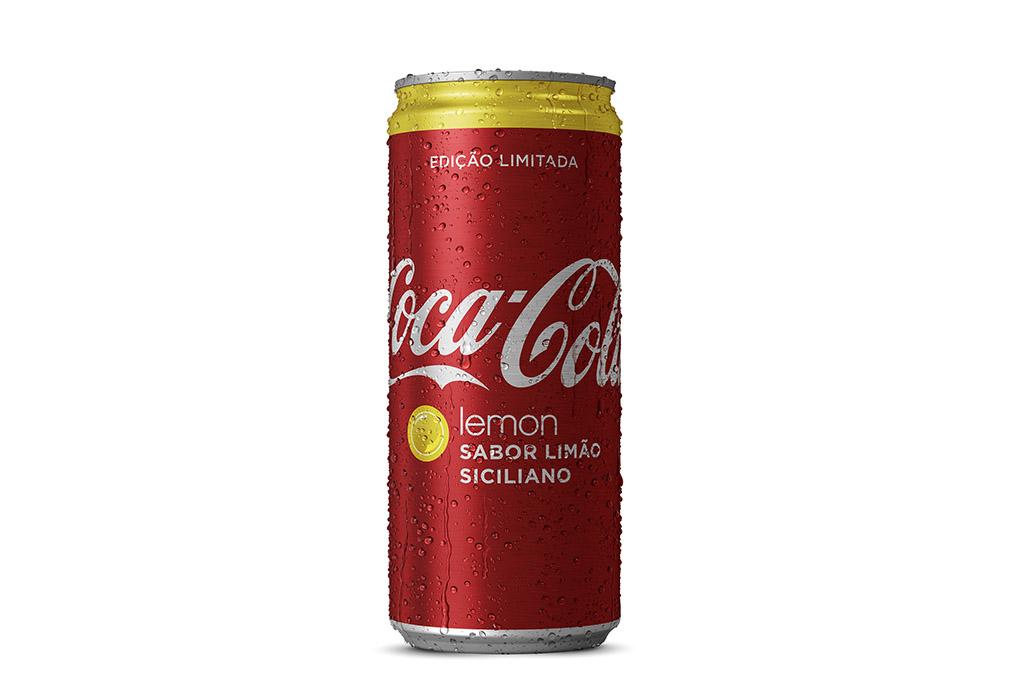 Nova Coca-Cola sabor limão sicialiano