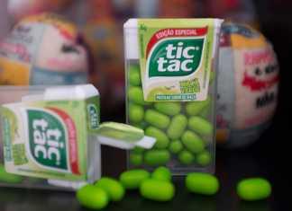 Novo Tic Tac versão especial maçã verde