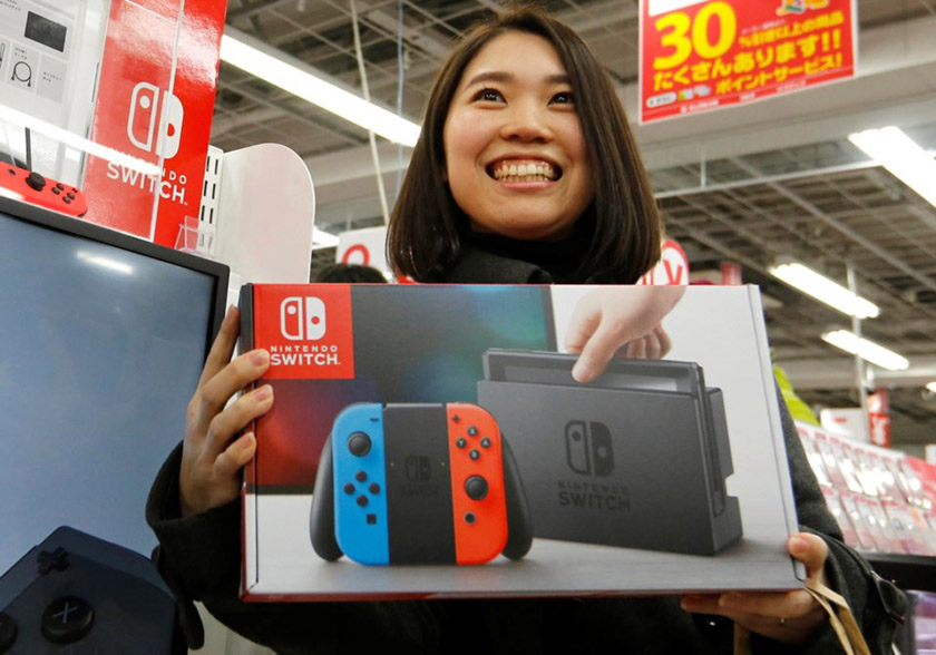 Nintendo Switch no Japão