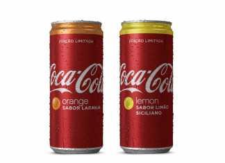 Novos sabores de Coca-Cola: laranja e limão siciliano