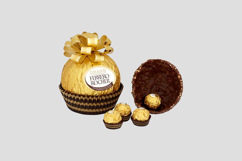 Ovo de páscoa Ferrero Rocher 2017 Grand Ferrero Rocher