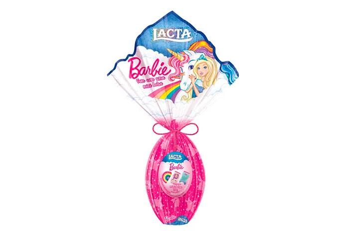 Ovo da Barbie com Bolsinhas Lacta 2019