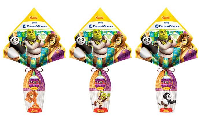 Ovos Clássicos DreamWorks Garoto 2019
