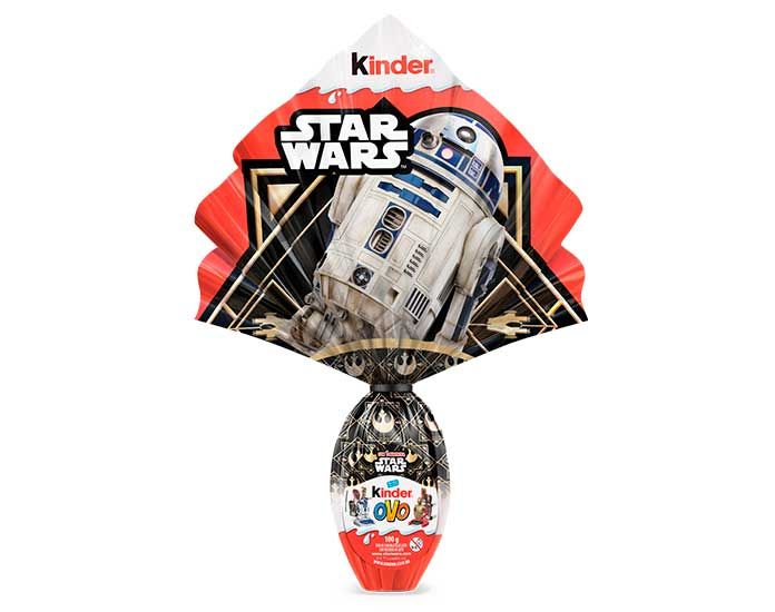 Ovo de Páscoa Kinder Star Wars