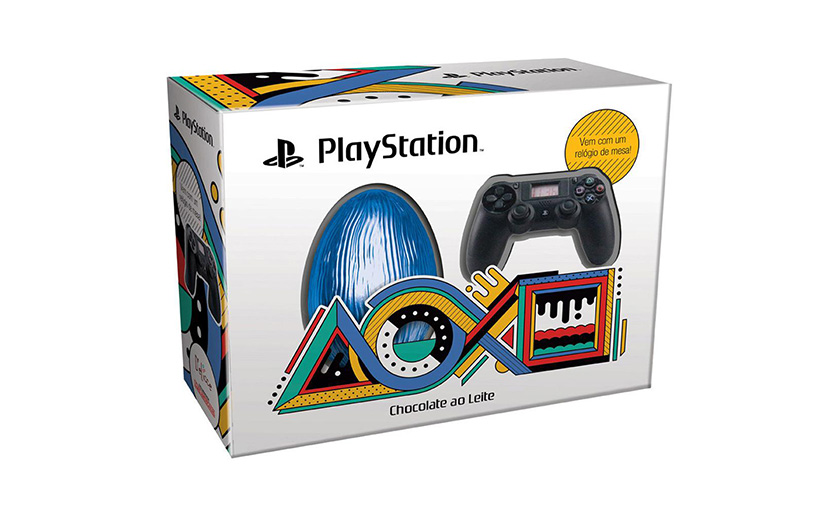 Caixa ovo de páscoa PlayStation Brand D'elicce Uncharted 4