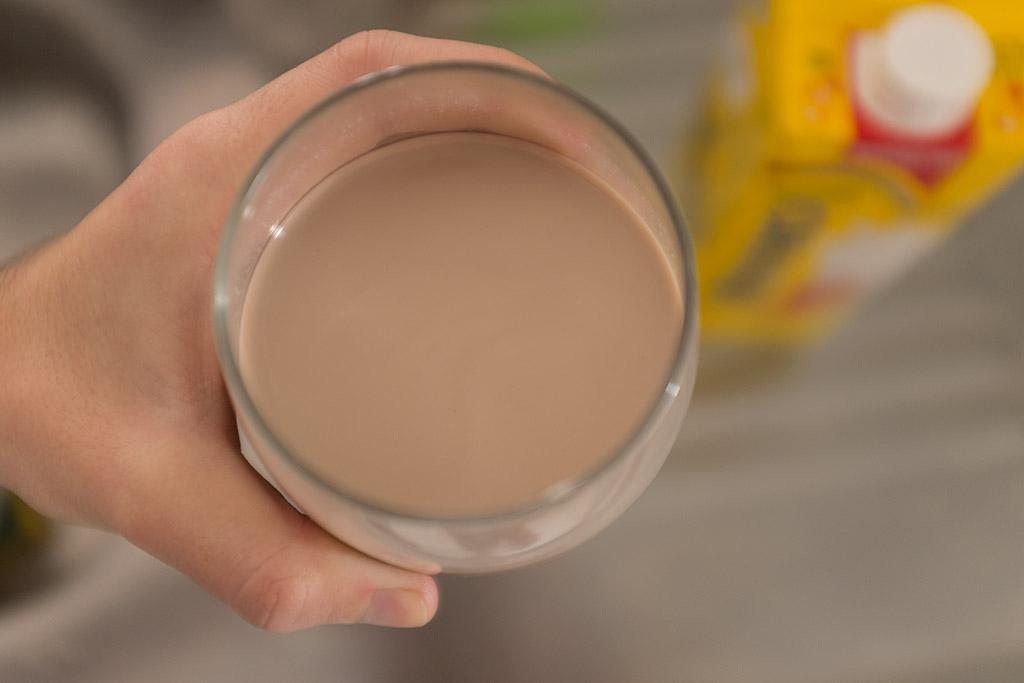 Ovomaltine tipo suíço no leite