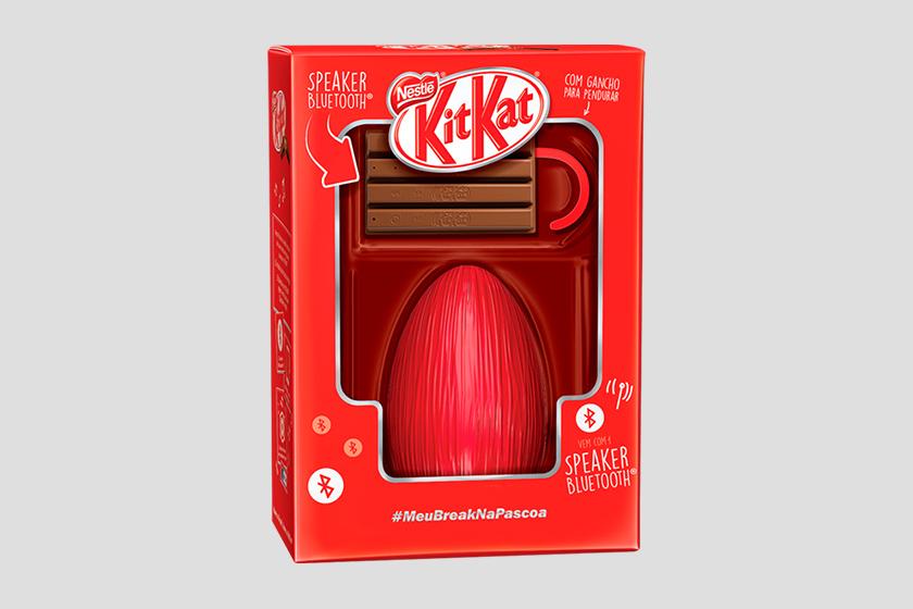 Ovo de páscoa Nestlé 2017 KitKat Speaker Bluetooth