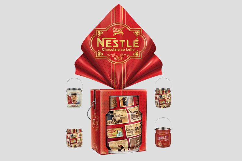 Ovo de páscoa Nestlé 2017 Vintage