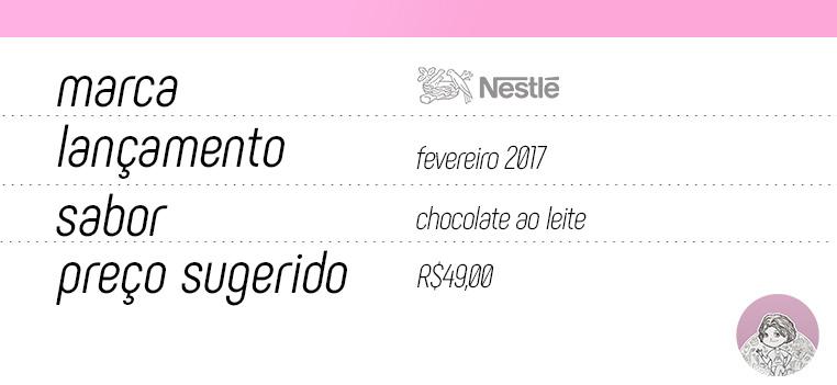 Tabela ovo Surpresa Nestlé