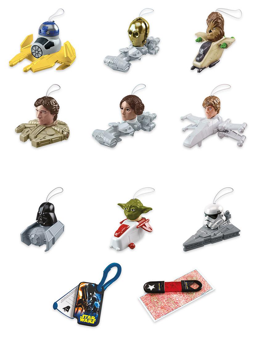 Brindes Kinder Ovo Star Wars especial para páscoa