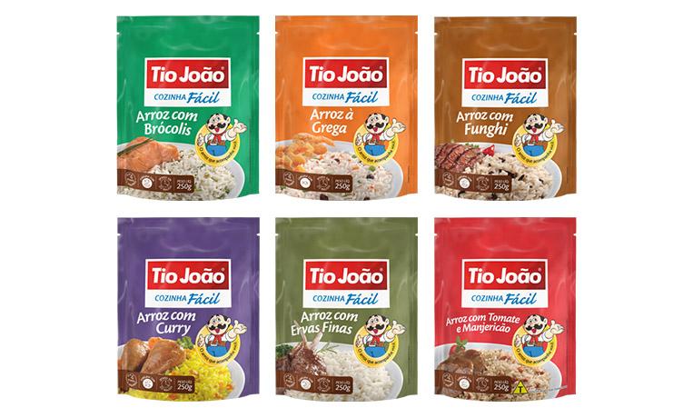 Sabores Tio João linha Cozinha Fácil