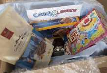 Caixa Candy Lovers Club de março