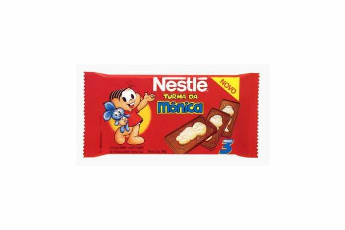 Chocolate Turma da Mônica Nestlé