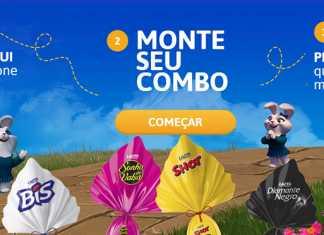 E-commerce Lacta para páscoa 2017