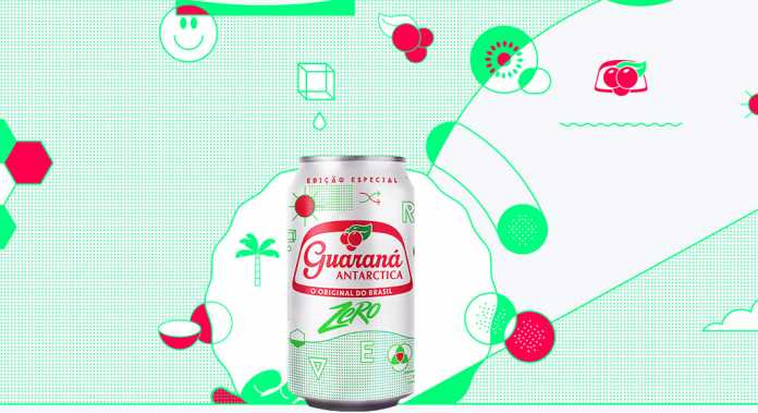 Guaraná Antarctica Zero Drinks 3