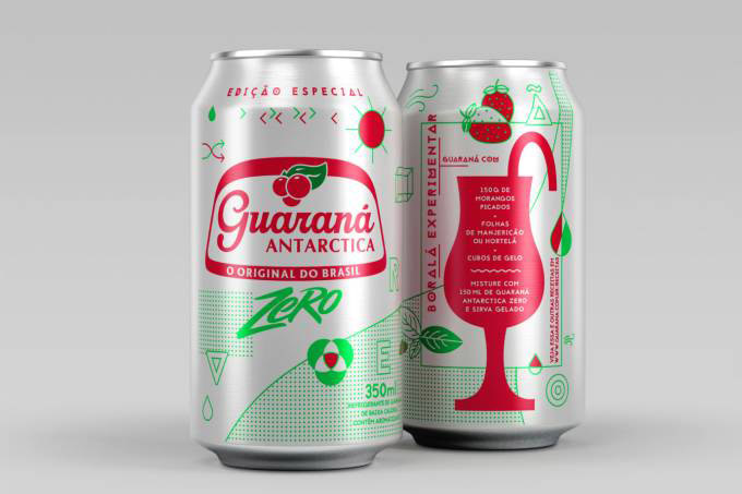 Guaraná Antarctica Zero Drinks