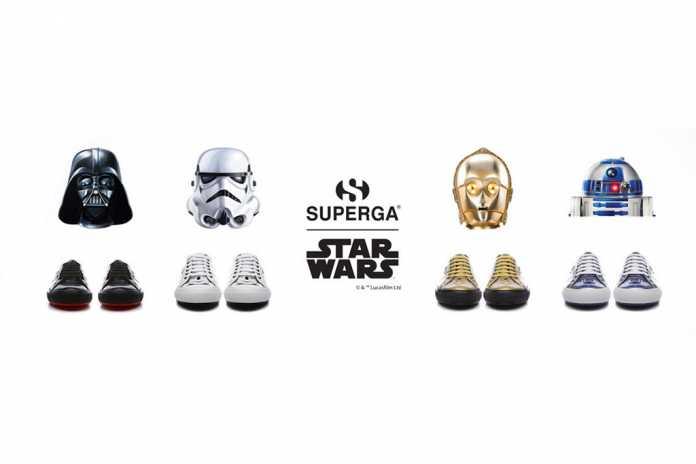 Coleção Superga Star Wars