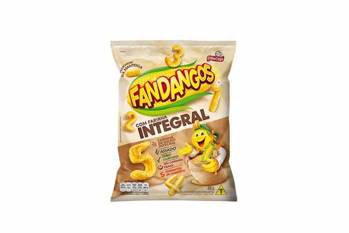 Novo Fandangos com farinha integral