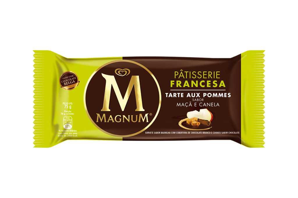 Novo sorvete Magnum Tarte Aux Pomme