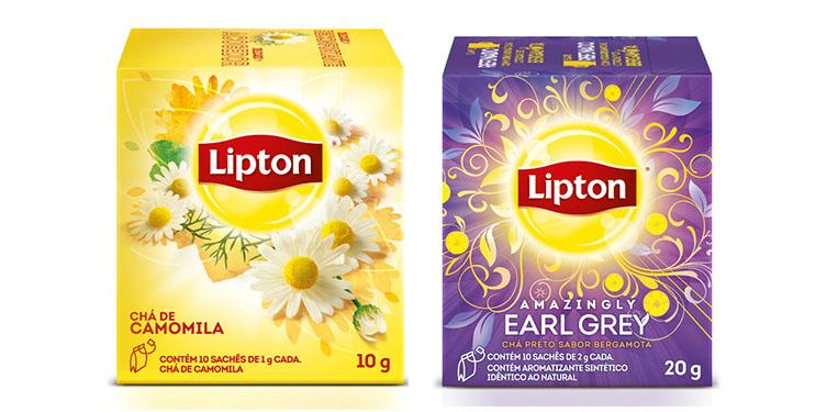 Novos chás Lipton 2