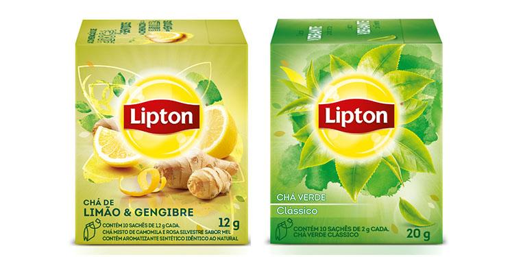 Novos chás Lipton 3