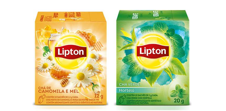 Novos chás Lipton 4