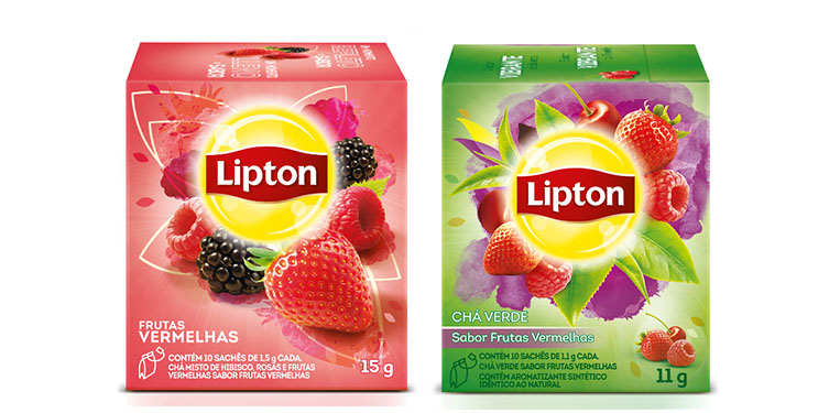 Novos chás Lipton 5
